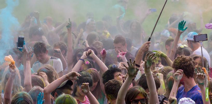 «Красочный, бесплатный, твой»: в Тамбове вновь пройдёт всероссийский фестиваль красок