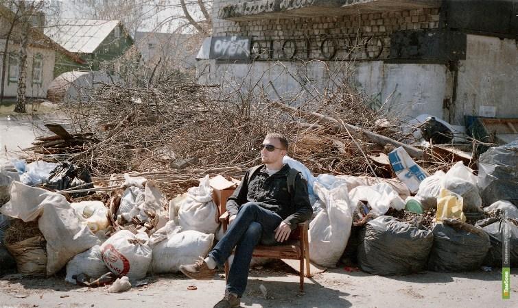 НН: Жители устали от беспорядка в своем дворе