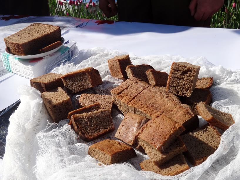 Тамбовчане ощутили вкус блокадного хлеба