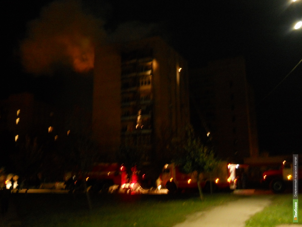 При пожаре в многоэтажке погиб тамбовчанин
