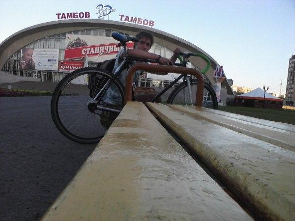 Константин Растюшевский: один день на велосипеде