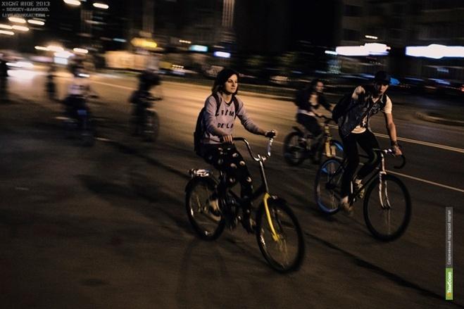 Тамбовские велосипедисты устроят ночное катание