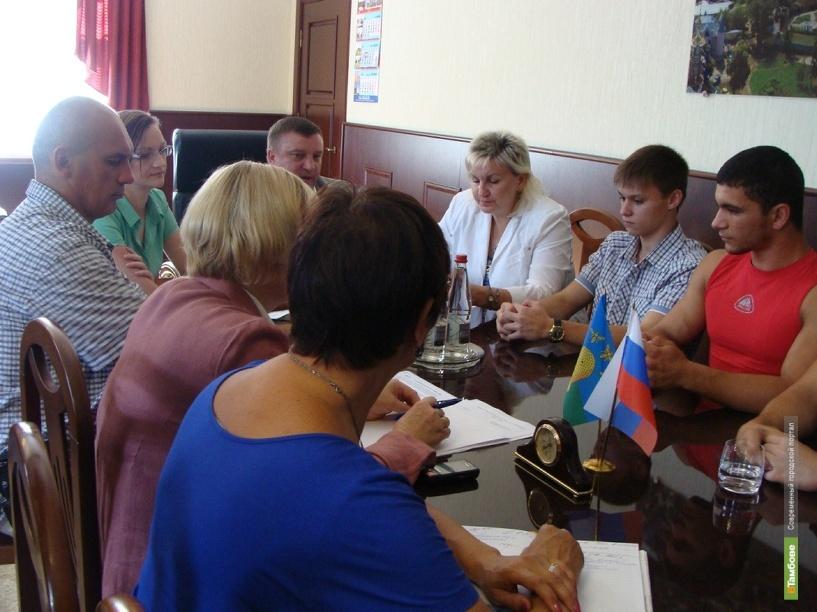 Тамбовские экстремалы обсудили с главой города предстоящий фестиваль «Спорт улиц»