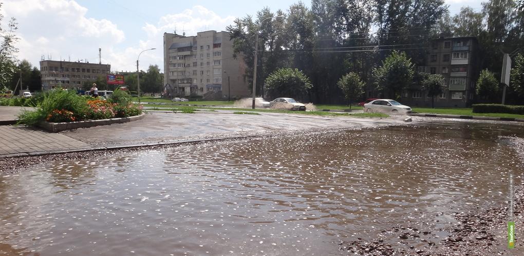 К середине июля в Тамбове уже выпала месячная норма осадков