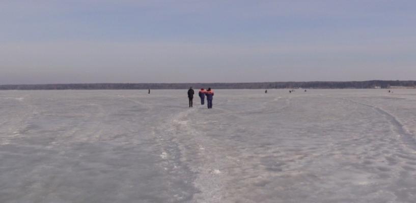Лёд тронулся: его толщина на тамбовских водоемах с каждым днем уменьшается