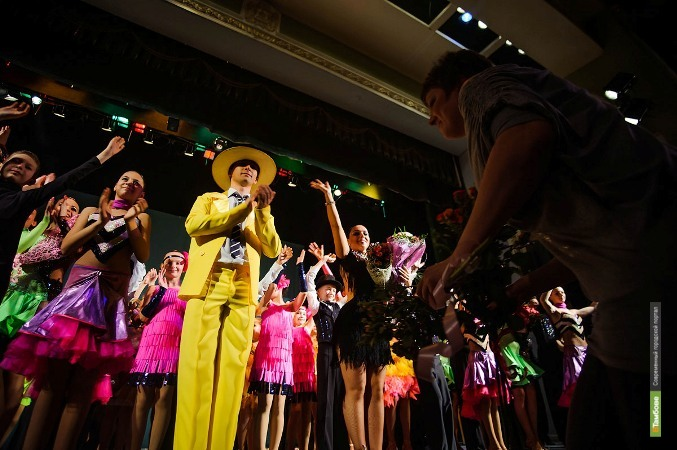 Гала-концерт ансамбля «Цвета радуги» завершил фестиваль бальных танцев