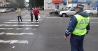 Автоинспекторы устроили очередной рейд по пешеходным переходам