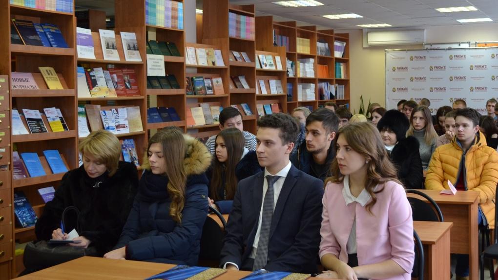 Абитуриенты посетили день открытых дверей в Тамбовском филиале РАНХиГС