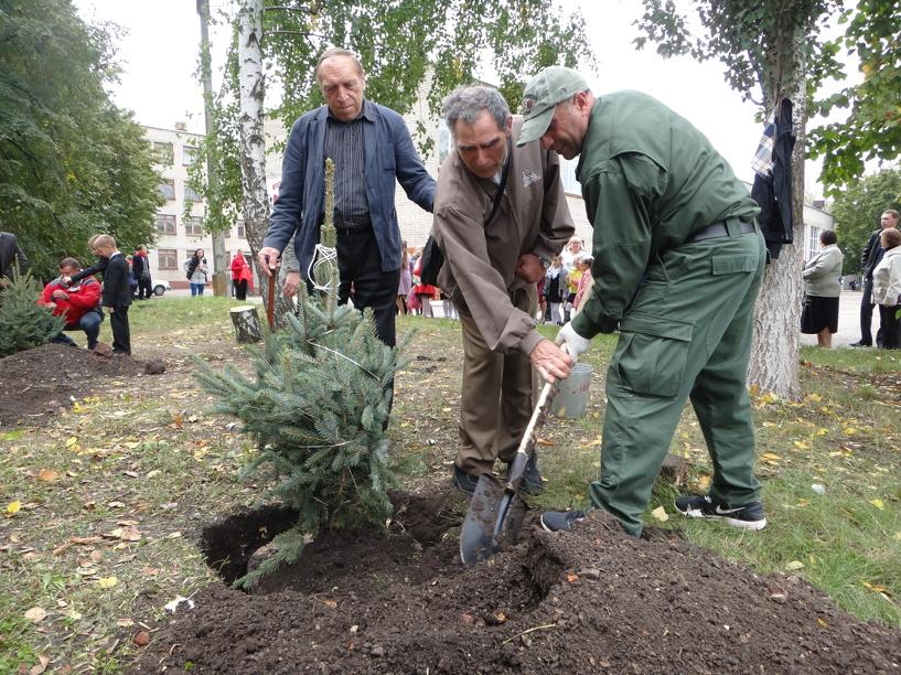 В Беларуси разбили аллею Тамбовской области