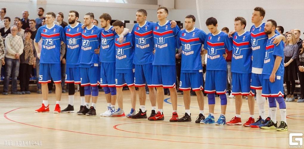 Баскетбольный клуб «Тамбов» обновил логотип