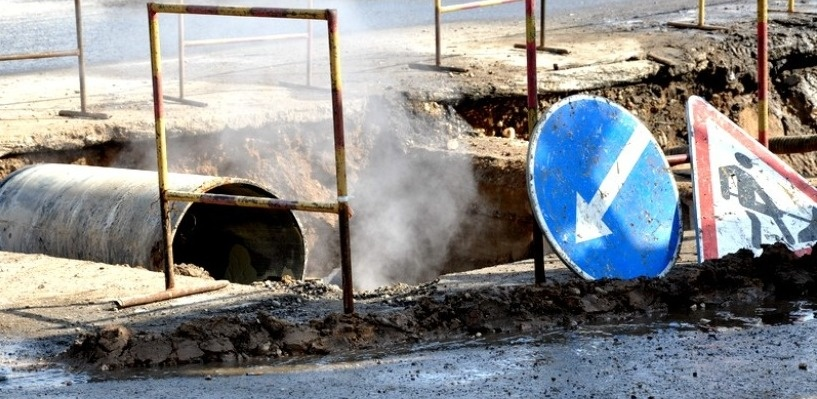 Разрытые после ремонта теплосетей дороги должны привести в порядок к 1 сентября
