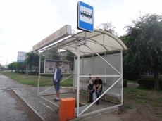 Тамбовчане будут ждать транспорт на новеньких остановках