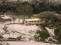 На Бразилию обрушился снегопад. Жертвами погоды стали три человека