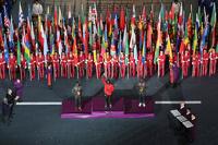 В Лондоне погасили олимпийский огонь