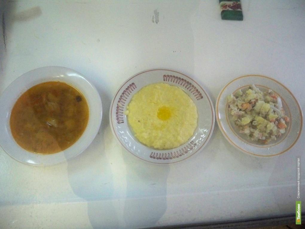 Вместо повара обеды юным тамбовчанам готовила уборщица