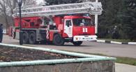 В областной ГИБДД произошел условный пожар