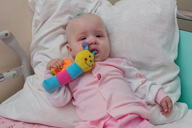 Годовалая девочка из Моршанска срочно нуждается в помощи