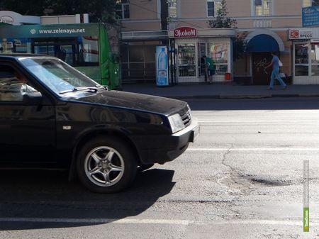 На Советской тамбовских автомобилистов ждет сюрприз