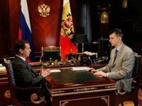 Медведев заинтересовался предложением «Правого дела»