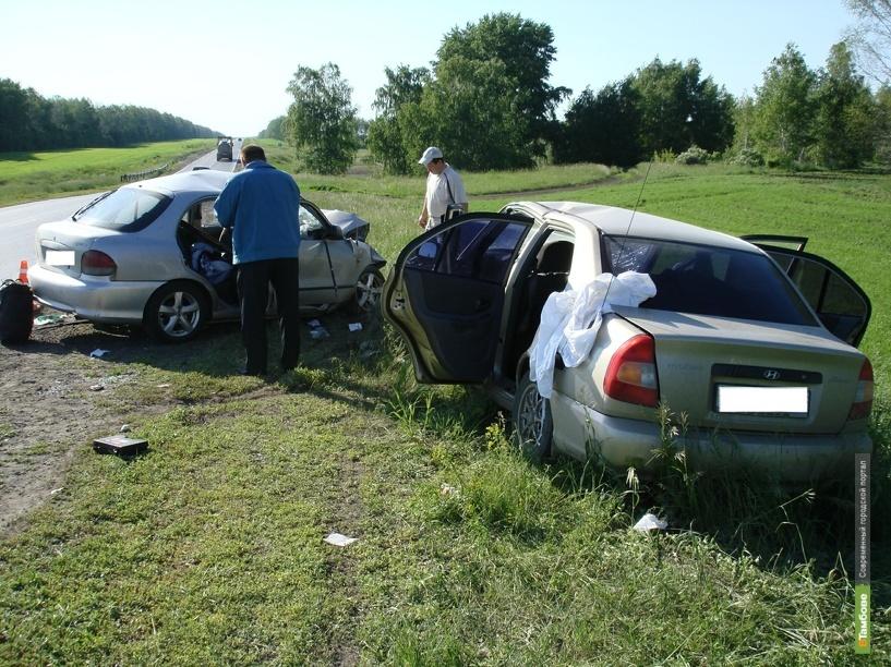 На Тамбовщине в автоаварии пострадали семь человек