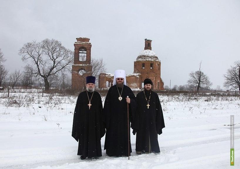 Священники Тамбовщины озаботились восстановлением уникальной церкви