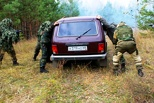 Тамбовские спецназовцы провели учения в Сосновском районе