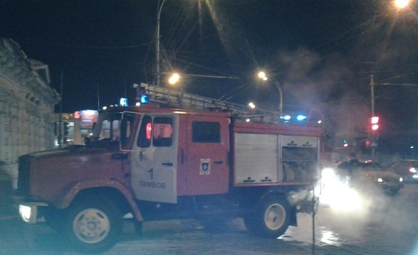 В Тамбове полностью сгорела квартира на улице Советской