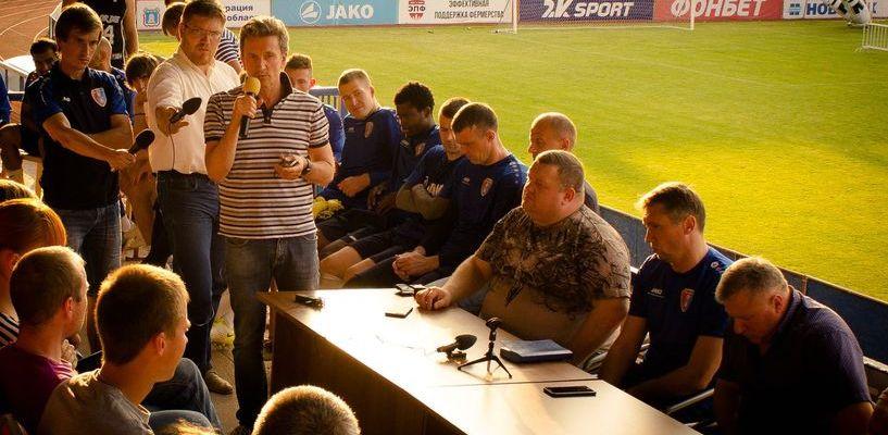 ФК «Тамбов» снова встретился с болельщиками