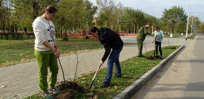 В Котовске объявили о начале марафона «Посади дерево. Передай эстафету!»