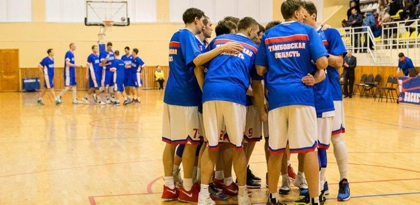 Тамбовские баскетболисты уступили питерскому «Спартаку»