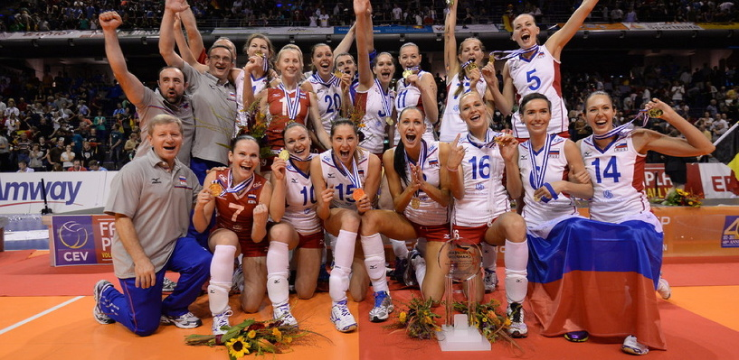 Волейболистка из Мичуринска стала чемпионкой Европы