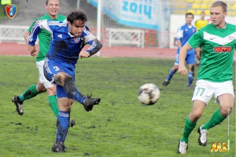 Бывший игрок тамбовского «Спартака» чуть не забил гол новой городской команде