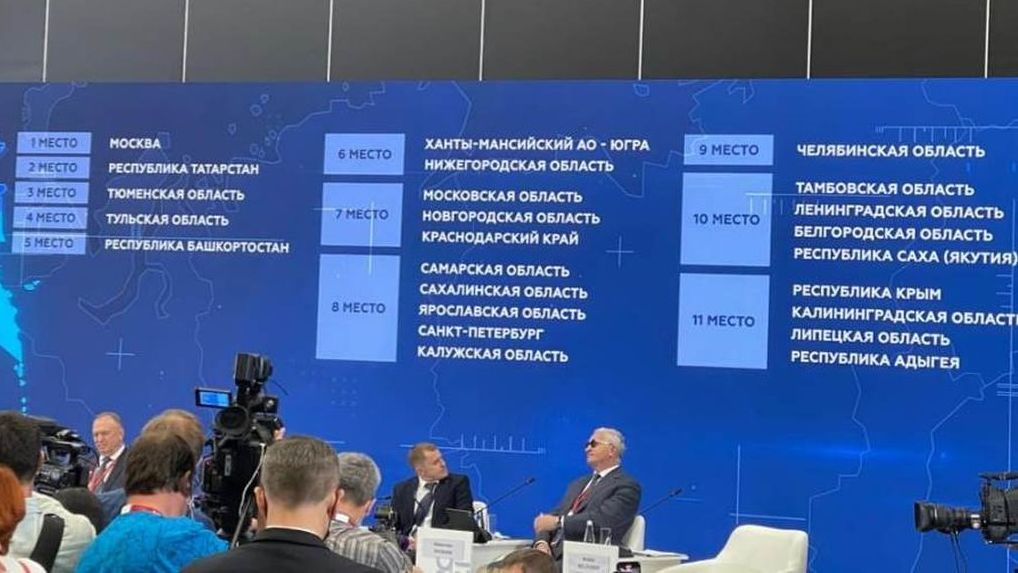 Тамбовская область вошла в десятку Национального рейтинга инвестиционного климата