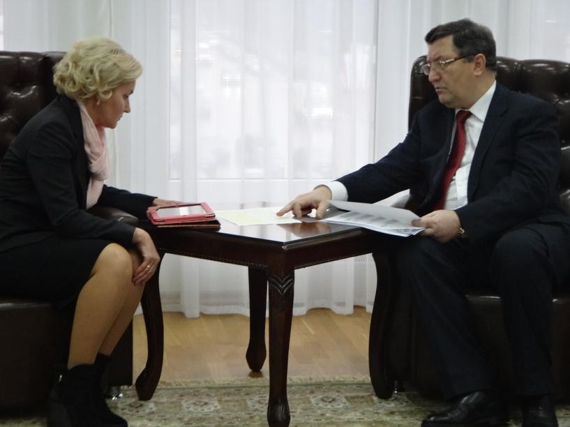 Ольга Голодец поблагодарила Тамбовщину за развитие социальной сферы