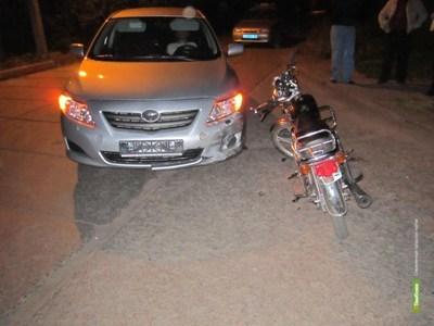 В Тамбовской области ребёнок попал под колёса иномарки