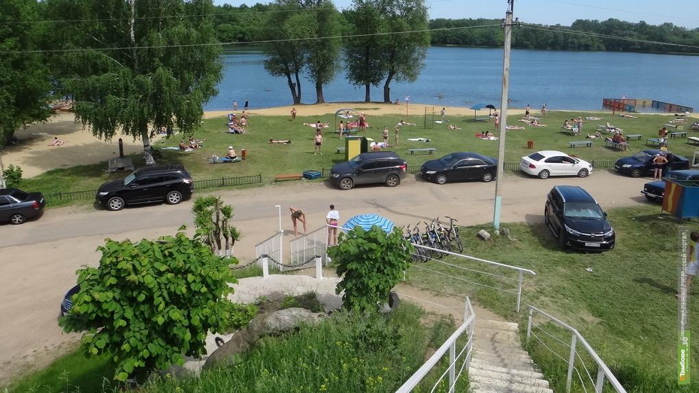 В Тамбове снова нельзя купаться на «Парусе»