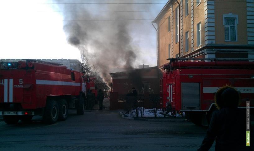 В тамбовском Доме молодёжи произошёл пожар