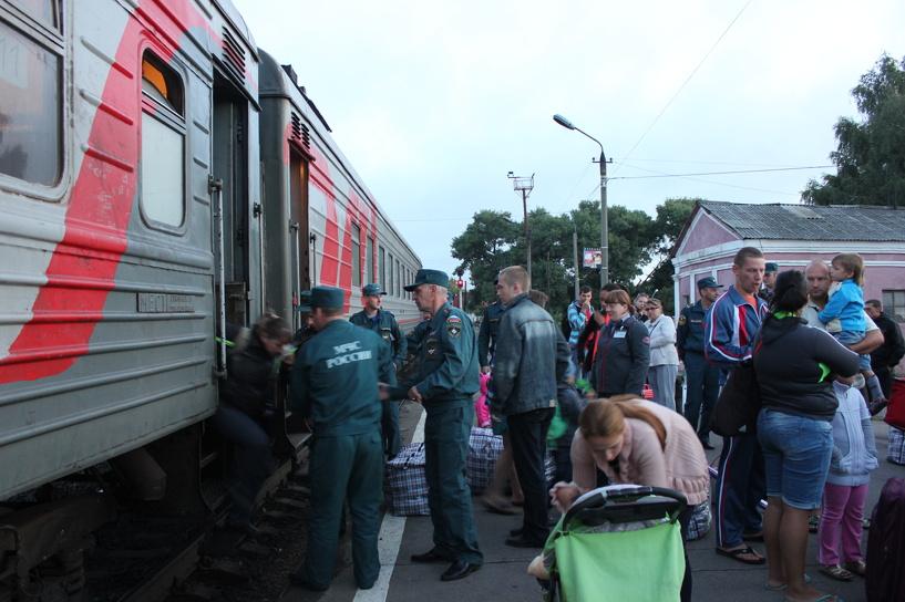 В Тамбов прибыла самая большая группа переселенцев из Украины