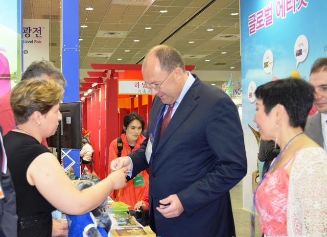 Тамбовчан поблагодарили за участие в международной туристической выставке