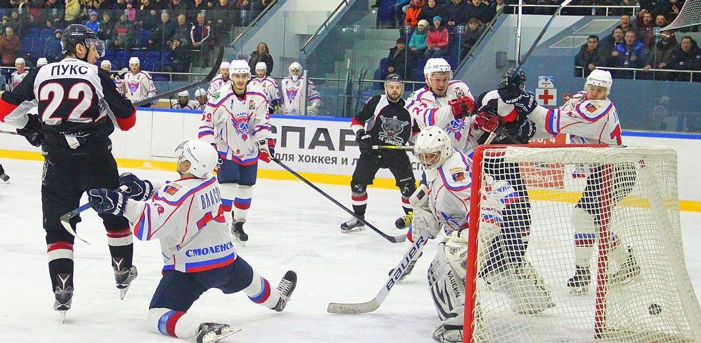 ХК «Тамбов» готовится к играм плей-офф