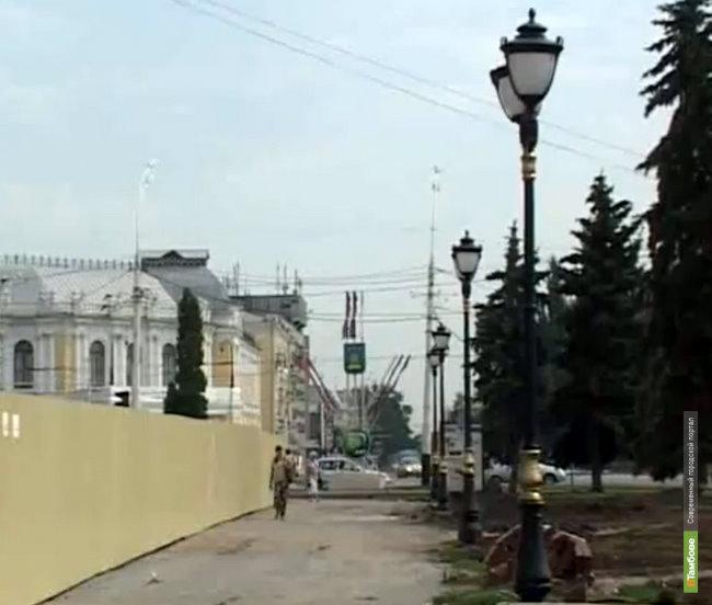 Власти сэкономят на ночном освещении Тамбова