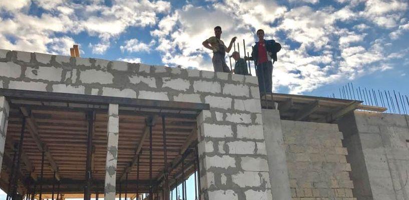 В Ивановке полным ходом идёт строительство концертного зала