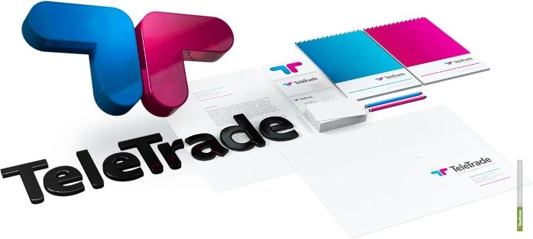 У ГК TeleTrade появился новый фирменный стиль