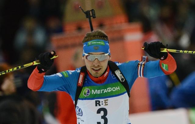 Биатлонист Антон Шипулин стал вторым на Кубке мира