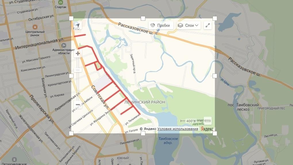 киров карта города с улицами