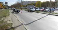 В Тамбове в ДТП пострадал пожилой мотоциклист