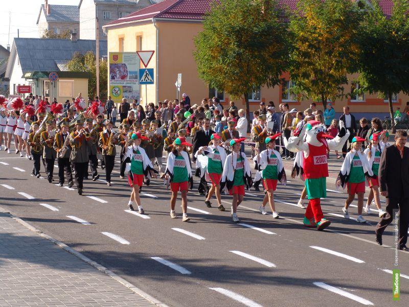 Тамбовские спортсмены пройдут по городу парадом