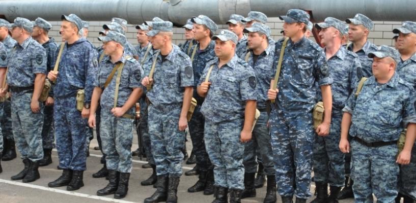 Вторая смена тамбовских полицейских вернулась из Чечни без потерь