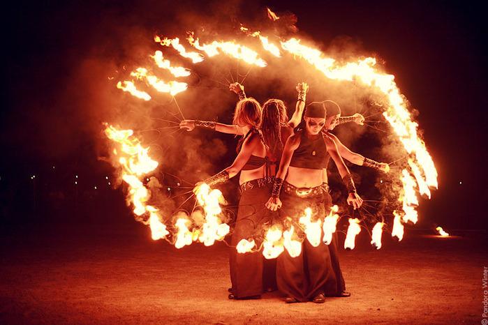 Тамбовчане устроят огненное шоу в поддержку лишившегося рук фаерщика