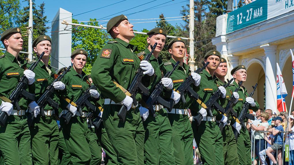 Не забыто: громко и торжественно прошёл Парад Победы по улицам Тамбова
